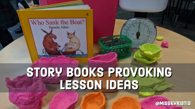 Story books provoking lesson ideas – Teaching in the Primary Years