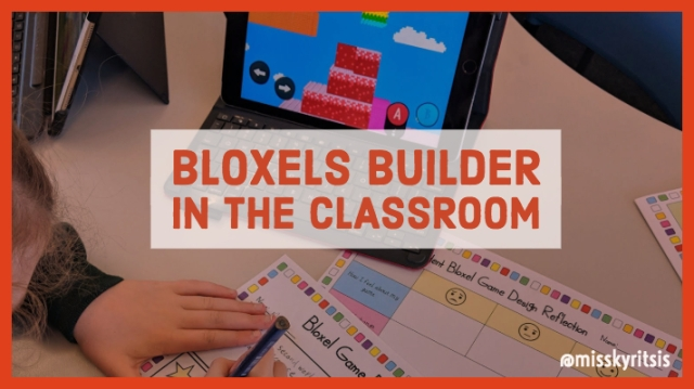 Bloxels Builder in the Classroom – Teaching in the Primary Years